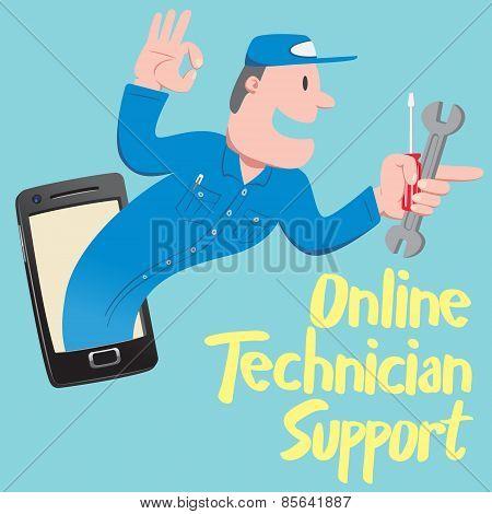 Online Technician Support