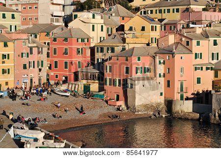 Boccadasse, Sea District Of Genoa