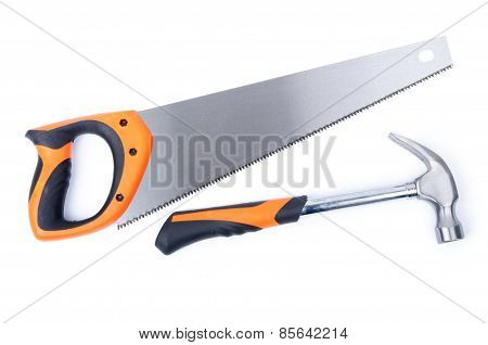 Hand Saw And Hammer