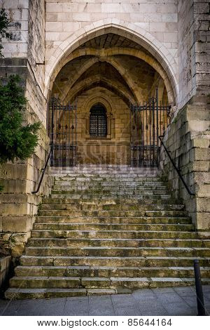 Santander Cathedral, Staircase Of Access