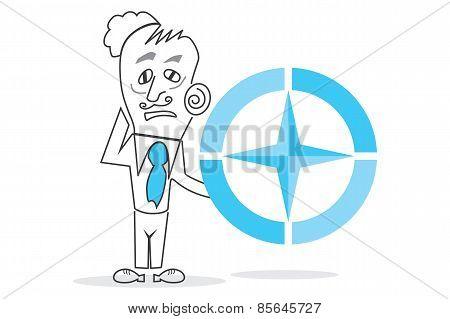 Big Blue Compass