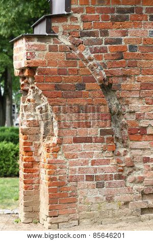 Fragment Of Romanesque Cloister In Doberan