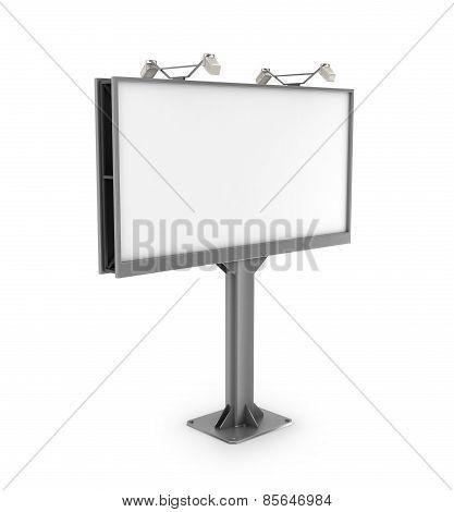 Black billboard