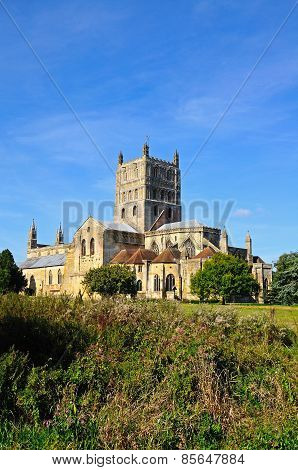 Tewkesbury Abbey.