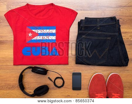 Overhead of essentials casual boy