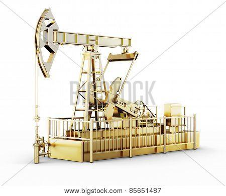Golden Machine Oil Pump