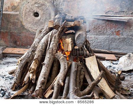 Fireplace Background