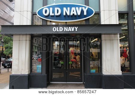 Old Navy Store, Chicago