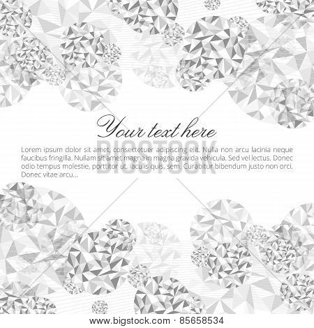 Abstract Diamond Background