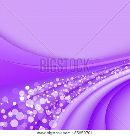 Abstract Lilac Background. Vector Illustration