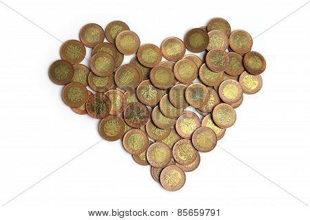 Czech Crown Fifty - Heart