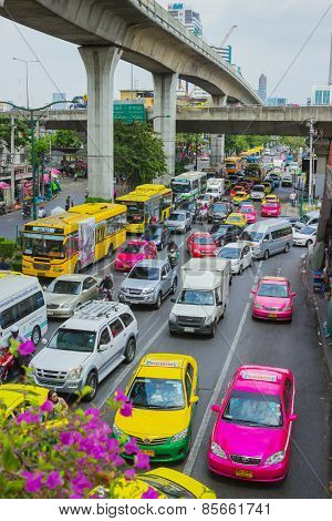 Traffic Jams Bangkok