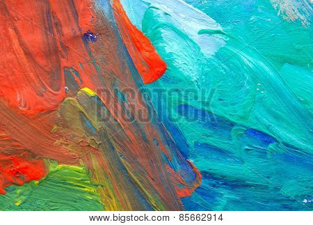 Abstract Child Art