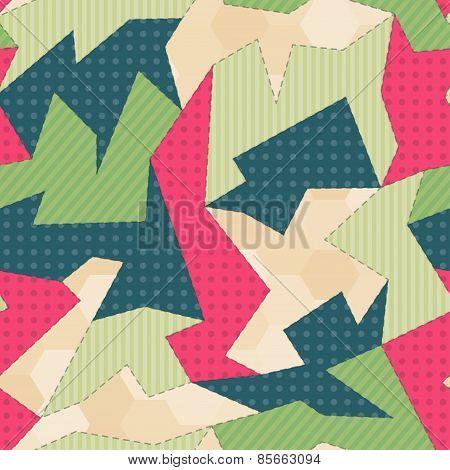 Fabric Seamless Pattern