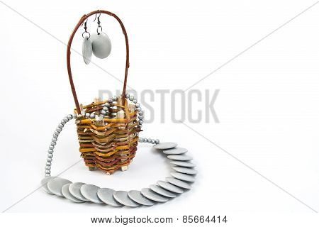Trinkets In Basket