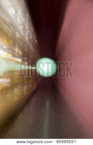 Blurred Background With Bokeh, Long Exposure With Zoom Effect