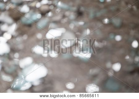 Blurred Shards Of Glass For Backgrounds And Overlays