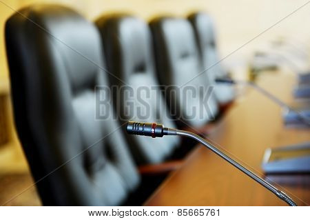 Press Conference Microphone