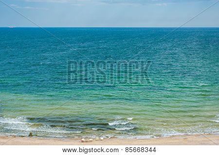 Beautiful Beach On A Sunny Day