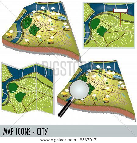 Map Icons - City