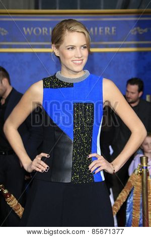 LOS ANGELES - MAR 1: Cody Horn at the World Premiere of 'Cinderella' at the El Capitan Theater on March 1, 2015 in Hollywood, Los Angeles, California