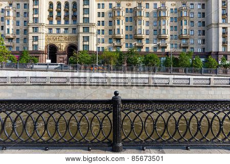 Cast Iron Lattice In Moscow
