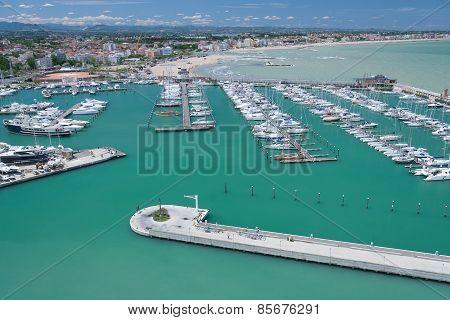 Marina Bay in Rimini, Italy