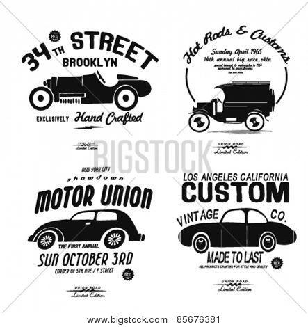 sketch car set