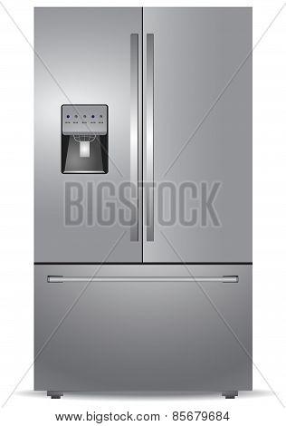 French door, refrigerator