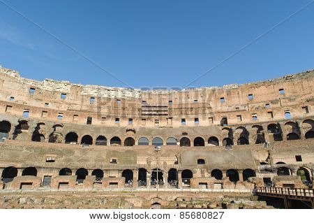 Rome, Italy - January 21, 2010: Colosseum