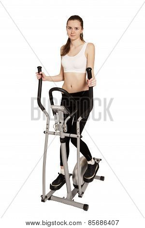 Woman Exercising Sports