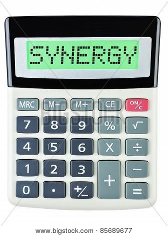 Calculator With Synergy
