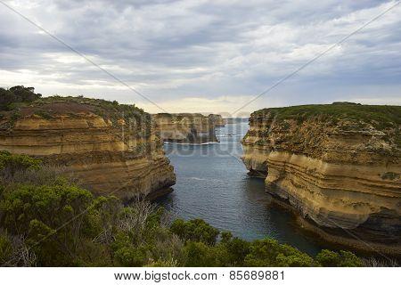 Gorge On Great Ocean Road
