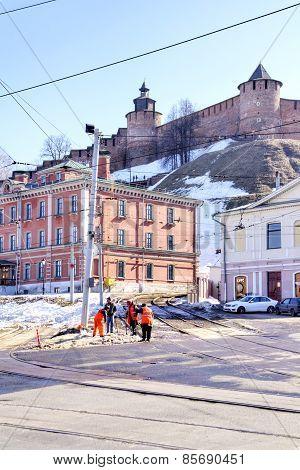 Nizhniy Novgorod. Municipal Landscape