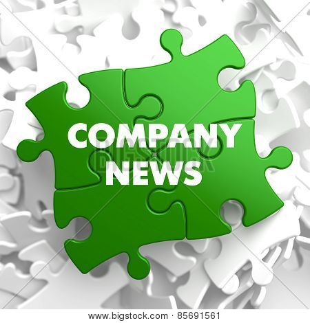 Company News on Green Puzzle.