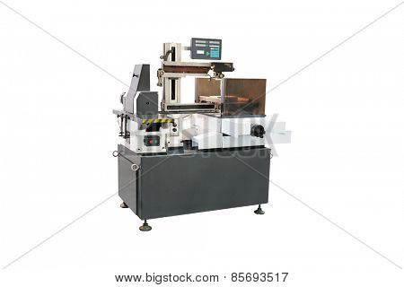 image of a lathe