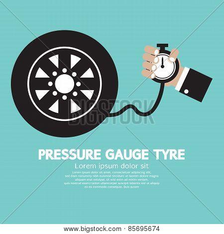 Pressure Gauge Tyre.