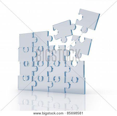 Transparent Puzzles.