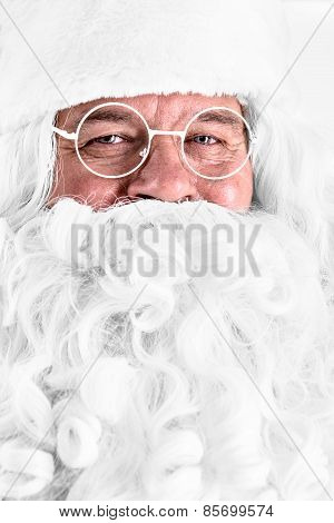 Santa Claus Close-up Portrait