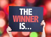 image of winner  - The Winner Is - JPG