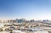 image of las vegas casino  - Panorama of Las Vegas  - JPG