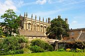 foto of church-of-england  - View of Christ Church Cathedral and the memorial gardens Oxford Oxfordshire England UK Western Europe - JPG