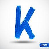 picture of letter k  - Alphabet Letter K - JPG