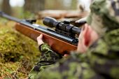 stock photo of guns  - hunting - JPG