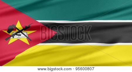 Mozambique Flag.