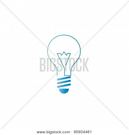 Lamp Icon, Alternative Energy, Innovation Idea Logo