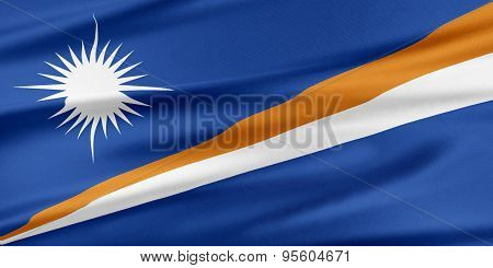 Marshall Islands Flag.