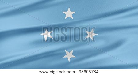 Federated States Of Micronesia Flag.
