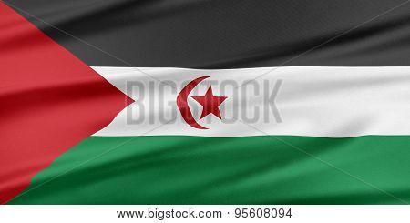 Western Sahara Flag.