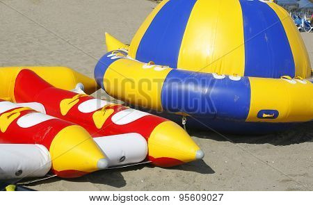 Inflatable For Dragging